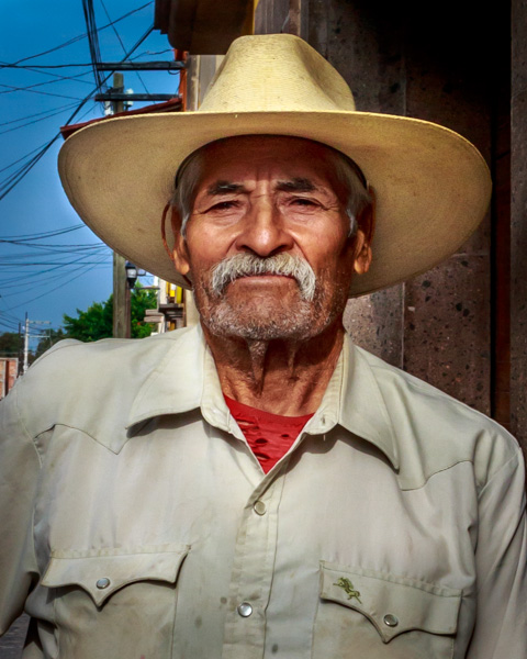 Portrait of Mexican man