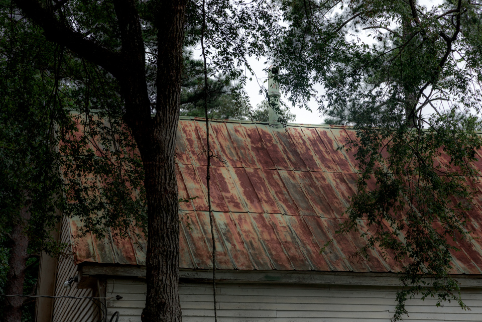 Concord Baptist Church Roof