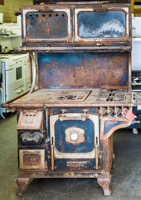 Retro appliances 1903 Great Majestic
