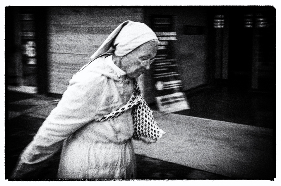 Nun in Mexico City