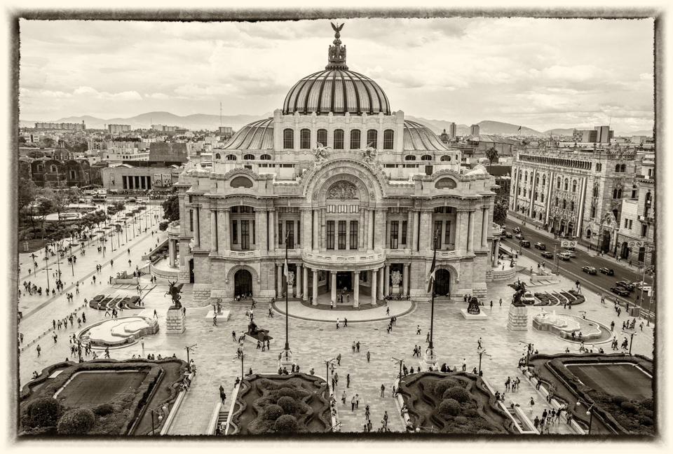 Palacio de Belles Artes, Mexico City