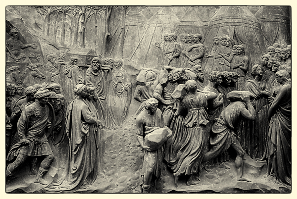 "Lorenzo Ghiberti's ""The Gates of Paradise,"" the Florence Baptistery"