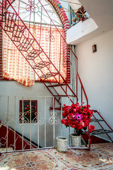 Staircase, residence