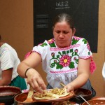 Traditional cook Antonia Glez