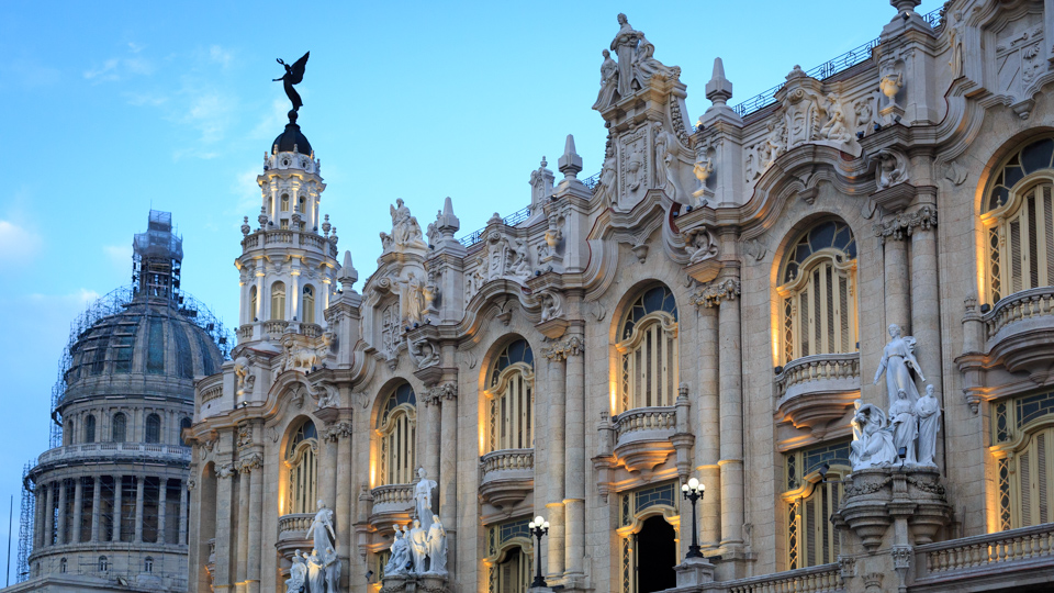 Cuba's National Capitol and Theatre