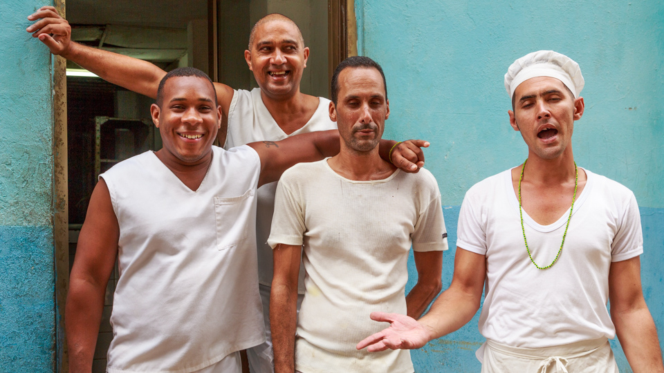 Cuba people: Bakers