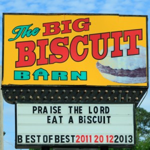 Big Biscuit Barn, Rossville Ga.